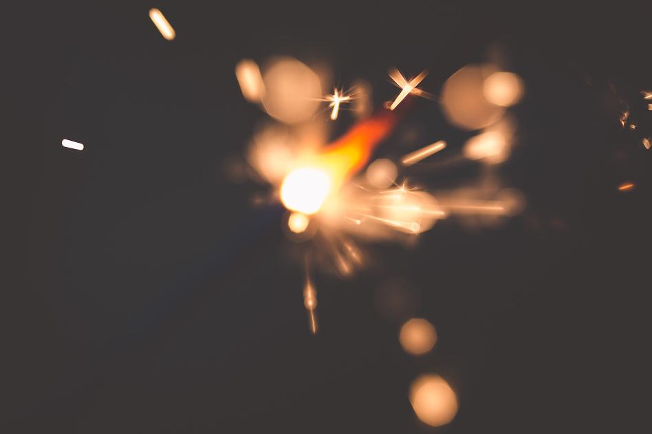 sparkler macro tiffany kelly