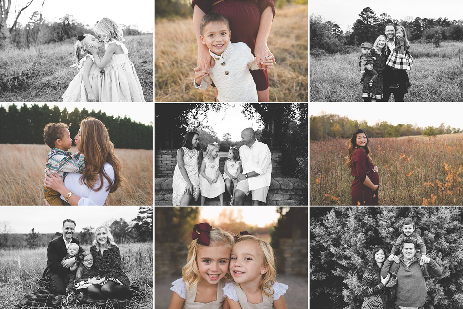 fall family sessions atlanta family photographer