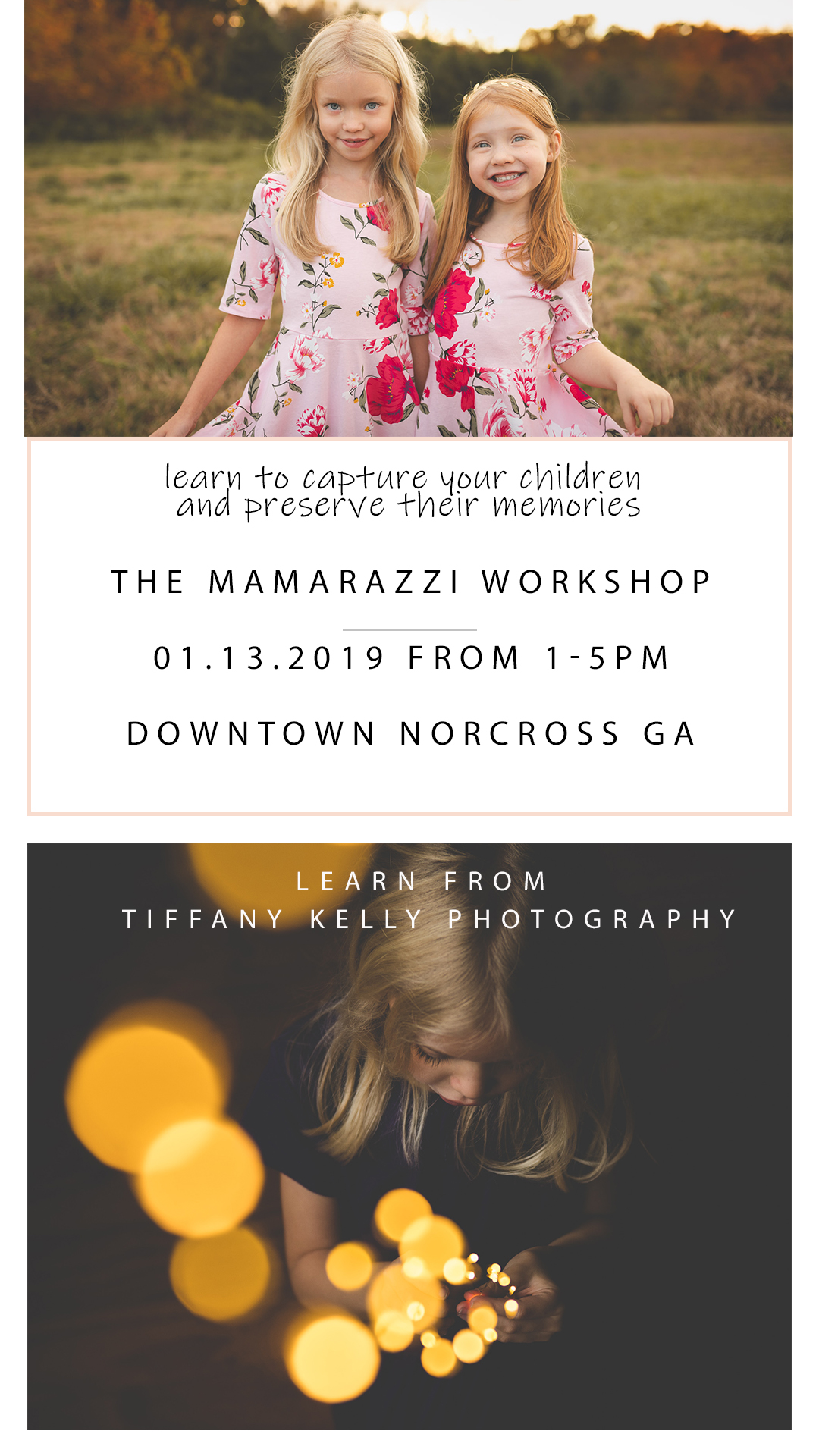 atlanta photography workshop for moms